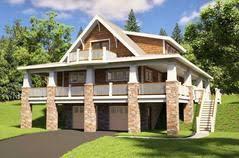 hillside garage plans drive house plans home designs with garage below