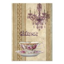 241 best tea party birthday party invitations images on pinterest