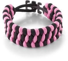 black bracelet pink images Columbia river 9400pk tom stokes adjustable paracord bracelet jpg