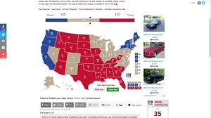 2004 Presidential Election Map by Trump Vs Clinton Election Prediction 10 3 16 Youtube