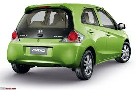 cars honda honda brio small car for india unveiled update scoop pics pg