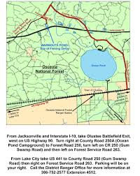 Interstate 10 Map Kid U0027s Fishing Derby Florida Youth Conservation Centers Network