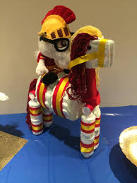 usc trojan horse diaper cake creations pinterest trojan usc trojan horse diaper cake