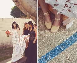 a bohemian black tie wedding diana josh green wedding shoes