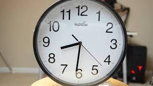 hippih 10 u0027 silent quartz decorative wall clock review youtube