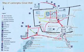 Map Of The Great Wall Of China by Laolongtou Great Wall Old Dragon U0027s Head Hebei