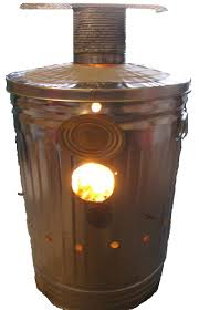 you can make your own inexpensive paper incinerator to burn