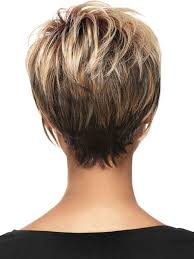 Short Hair Back Images | back view of short haircuts short haircuts crown and layering