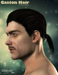 gaston for michael 6 3d models and 3d software by daz 3d