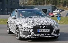 2018 audi rs 4 spied again at the u0027ring quattroworld