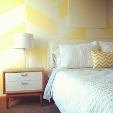 Mid Century Patterns by Wall Patterns Bedroom Contemporary With White Contemporary Picture