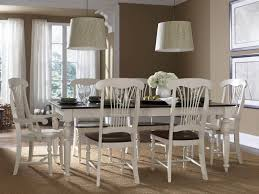 country style dining room other peru white side chair with cushion white rectangle dining