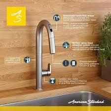 touch free kitchen faucets touch free kitchen faucet for performance lead free 85 free