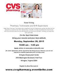 Cvs Pharmacy Resume Cvs Pharmacy Now Hiring Pharmacy Technicians And Shift Supervisors
