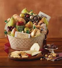 food gift basket deluxe favorites gift basket food gift baskets harry david