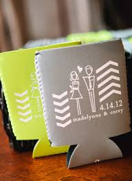 personalized koozies for wedding chevron birmingham wedding by stephen devries photography cheap