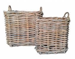 Rattan Baskets by Rattan Basket M 45cm