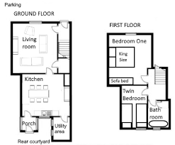 sle house floor plans the ale house friendly cottage near craster