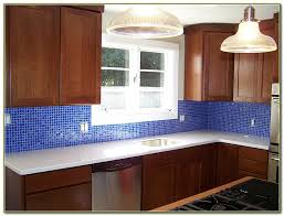 cobalt blue glass tile backsplash tiles home decorating ideas