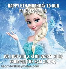 Frozen Birthday Meme - best frozen birthday meme frozen elsa meme happybirthdaymeme