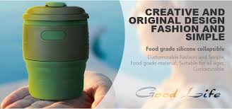 Collapsible Coffee Mug Collapsible Coffee Cup Collapsible Travel Cup Silicone Cups