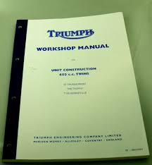 triumph workshop manuals
