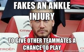 Injury Meme - funny pictures what s the best meme of nicklas bendtner you have
