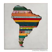 Seven Continents Map Seven Continents Map Art Silhouettes Dolan Geiman