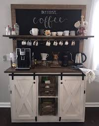 coffee kitchen cabinet ideas 21 coffee station ideas for your home cafe purewow