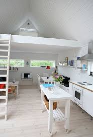 White Interiors Homes by This Swedish Home Resembles Many Tiny Houses On Wheels But Much