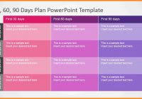 30 60 90 day plan template powerpoint free templates now