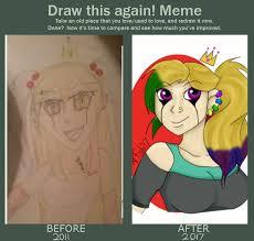 Starfish Meme - draw this again meme laddi by creeperstarfish on deviantart