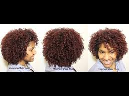 how to get 3c hair wash n go on coily natural hair youtube
