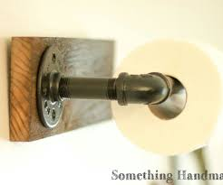 buy a hand crafted barn wood bathroom toilet paper holder rustic