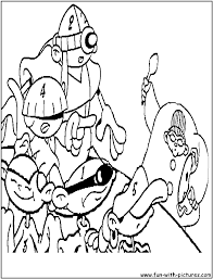 codename kids next door coloring pages coloring home