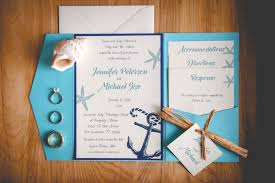 the beauty of beach wedding invitations with affordable budget