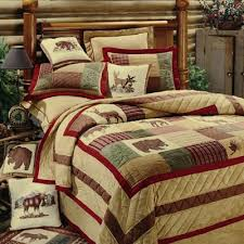 Rustic Comforter Sets Bedroom Cool Rustic Comforter Sets King Lodge Cabin Bedding Home