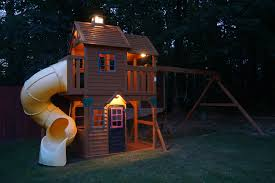 88 Watt Low Voltage Transformer by Finally Added Low Voltage Lighting To The Playset Daddit