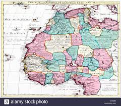 Map West Africa by Map Of North West Africa Guillaume Delisle Johannes Cornelis