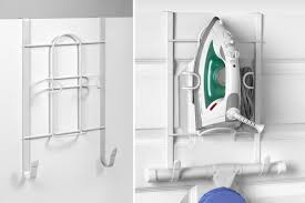 Over The Door Bathroom Organizer by 5 Solutions For Ironing Board Storage Diy House Help