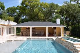 pool and outdoor kitchen designs outdoor living contemporary pool ta by premier outdoor