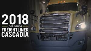 2018 pre series freightliner cascadia truck tour truck show