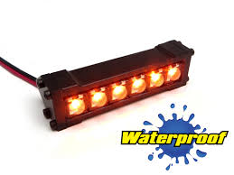 Red Led Light Bars by Gear Head Rc 1 10 Scale Six Shooter 2