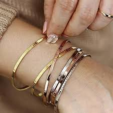 personalized cuff bracelet personalized cuff bracelet custom friendship bracelet
