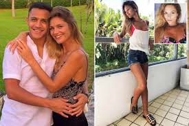 alexis sanchez wife arsenal star alexis sanchez shares cheesy video of himself with new