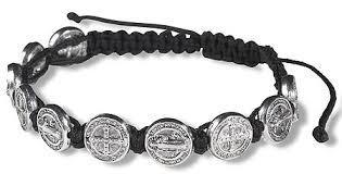 saints bracelet devotional saints religious bracelets benedict autom
