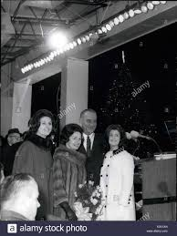 dec 12 1964 lighting cf the national christmas tree in stock
