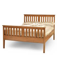High Frame Bed Rubberwood Bed Frames Beds Direct Warehouse Gainsborough