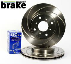 civic type r ep3 fn2 brake discs and ebc greenstuff brake pads