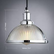 Ribbed Glass Pendant Light with Ribbed Glass Pendant Light Shades Chain Cord And Gallery For